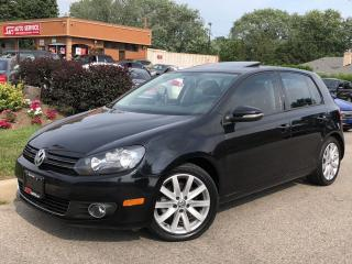 Used 2013 Volkswagen Golf HIGHLINE-AUTO-LEATHER-ROOF-ONLY 72KMS for sale in Mississauga, ON