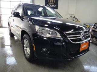 Used 2009 Volkswagen Tiguan 2.0 TURBO,AWD,NO ACCIDENT,MINT for sale in North York, ON