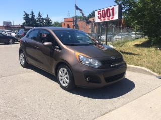 Used 2013 Kia Rio5 RIO 5,H/B,AUTO,P/S,SAFETY+3 YRS WARRANTY INCLUDED for sale in North York, ON