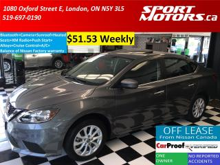 Used 2016 Nissan Sentra SV+Bluetooth+Camera+Sunroof+XM+Heated Seats for sale in London, ON