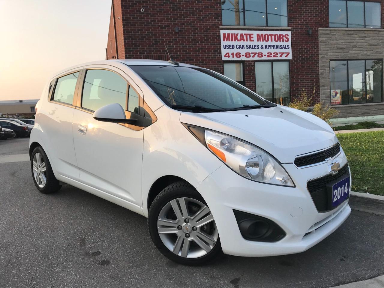 Photo of White 2014 Chevrolet Spark