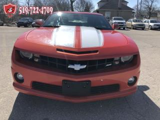 Used 2010 Chevrolet Camaro SS/V8/6.2L/CERTIFIED/WARRANTY INCLUDED for sale in Cambridge, ON