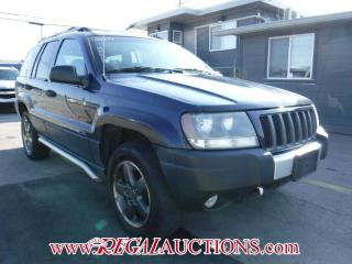 Used 2004 Jeep Grand Cherokee Laredo 4D Utility 4WD for sale in Calgary, AB