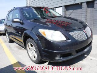 Used 2005 Pontiac VIBE BASE 4D HATCHBACK for sale in Calgary, AB