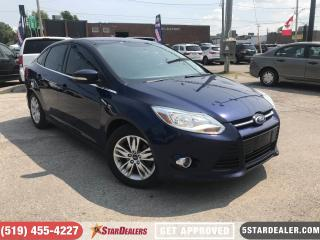 Used 2012 Ford Focus SEL | HEATED SEATS | BLUETOOTH for sale in London, ON