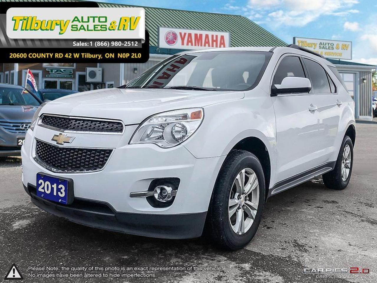 2013 Chevrolet Equinox LT. DIAMOND WHITE