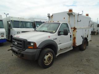 Used 2005 Ford F-450 service truck for sale in Mississauga, ON