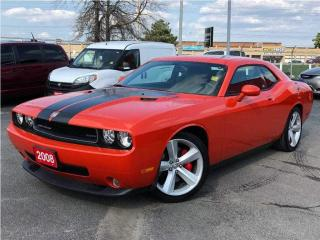 Used 2008 Dodge Challenger SRT8**Sunroof**Navigation**Challenger 500 Group** for sale in Mississauga, ON