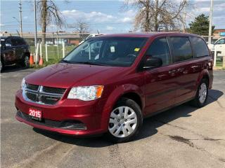 Used 2015 Dodge Grand Caravan Canadian Value Package**Stow AND GO**Power Windows for sale in Mississauga, ON