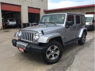 Used 2018 Jeep Wrangler Unlimited Sahara**Touchscreen**NAV**Remote Start** for sale in Mississauga, ON