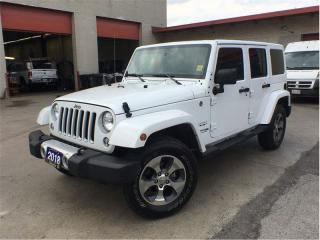 Used 2018 Jeep Wrangler Unlimited Sahara**Bluetooth**NAV**Remote Start** for sale in Mississauga, ON