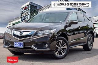 Used 2017 Acura RDX Elite at Accident Free| Acura Certified Included| for sale in Thornhill, ON
