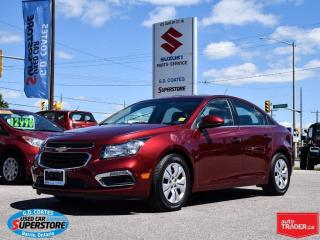 Used 2015 Chevrolet Cruze 1LT ~One Owner ~Only 20,000KM ~Backup Cam for sale in Barrie, ON