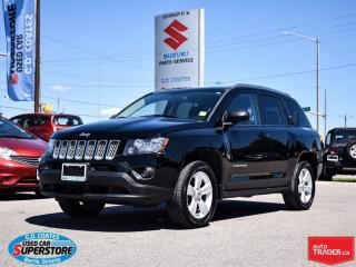Used 2014 Jeep Compass North 4x4 ~Heated Seats ~Backup Camera for sale in Barrie, ON