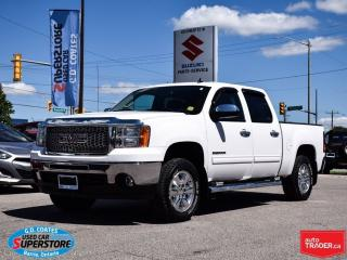 Used 2010 GMC Sierra 1500 SLE Crew Cab ~5.3L V8 ~Trailer Tow ~Power Seat for sale in Barrie, ON