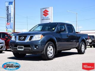 Used 2013 Nissan Frontier SV Crew Cab 4x4 ~Backup Cam ~Trailer Tow for sale in Barrie, ON