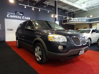 Used 2008 Pontiac Montana Sv6 EXTENDED / DUAL SLIDING DOORS / REAR A/C HEATING for sale in North York, ON