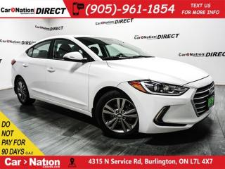 Used 2017 Hyundai Elantra GL| BLIND SPOT DETECTION| BACK UP CAMERA| for sale in Burlington, ON