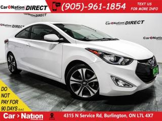 Used 2014 Hyundai Elantra Coupe SE| NAVI| LEATHER| SUNROOF| for sale in Burlington, ON