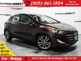 Used 2016 Hyundai Elantra GT Limited| PANO ROOF| NAVI| LEATHER| for sale in Burlington, ON