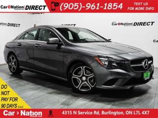 Used 2016 Mercedes-Benz CLA-Class 250 4MATIC| LOW KM'S| NAVI| PUSH START| for sale in Burlington, ON