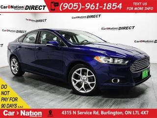 Used 2014 Ford Fusion SE EcoBoost| LEATHER| NAVI| SUNROOF| for sale in Burlington, ON
