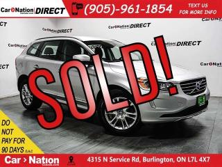 Used 2015 Volvo XC60 T5  POWER SEATS  PUSH START  for sale in Burlington, ON