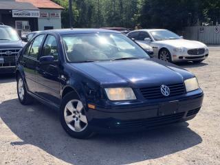 Used 2003 Volkswagen Jetta Accident-Free GLS Leather Sunroof Heated Seats for sale in Newmarket, ON