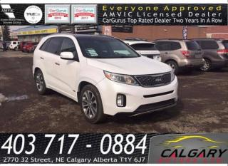 Used 2014 Kia Sorento AWD 4dr V6 Auto SX for sale in Calgary, AB