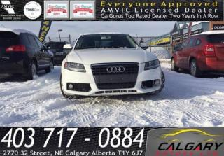 Used 2012 Audi A4 4dr Sdn Man quattro 2.0T for sale in Calgary, AB