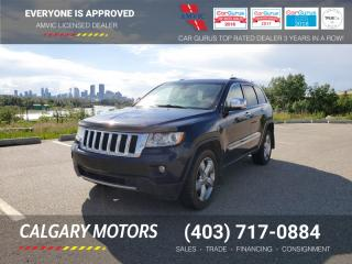 Used 2011 Jeep Grand Cherokee 4WD 4dr Overland for sale in Calgary, AB
