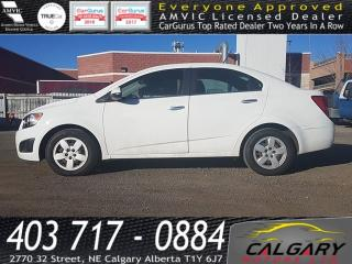 Used 2014 Chevrolet Sonic 4dr Sdn LT Auto for sale in Calgary, AB