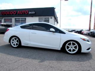 Used 2012 Honda Civic Si Coupe 6 SPEED NAVIGATION CERTIFIED 2YR Warranty for sale in Milton, ON