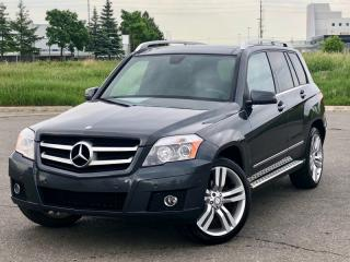 Used 2011 Mercedes-Benz GLK-Class 4MATIC|PANOROOF|ACCIDENT FREE|FINANCING AVAILABLE for sale in Mississauga, ON