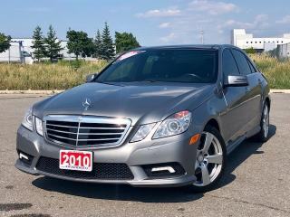 Used 2010 Mercedes-Benz E-Class DISTRONIC|LANE ASSIST|BLIND SPOT|ACCIDENT FREE for sale in Mississauga, ON