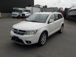 Used 2013 Dodge Journey Crew 7 Passenger with Third Row Seating for sale in Burnaby, BC