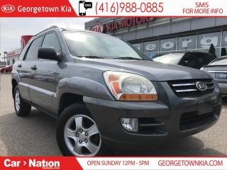 Used 2008 Kia Sportage LX-V6 ALLOYS| POWER GROUP| A/C| VERY CLEAN for sale in Georgetown, ON