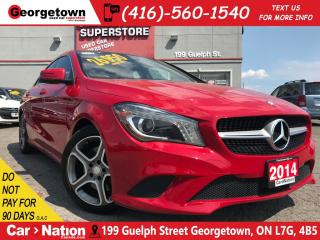 Used 2014 Mercedes-Benz CLA-Class 250 4matic | PANO ROOF| NAV | LEATHER| BACK CAM| for sale in Georgetown, ON