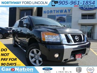 Used 2014 Nissan Titan S 4X4 | BED CAP | LOW KM | REAR CAMERA | for sale in Brantford, ON
