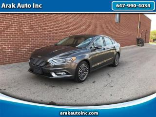 Used 2017 Ford Fusion Titanium AWD for sale in Mississauga, ON