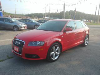 Used 2008 Audi A3 S-Line for sale in Barrie, ON