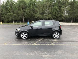 Used 2015 Chevrolet Sonic LT Turbo FWD for sale in Cayuga, ON