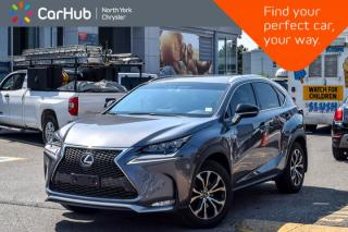 Used 2015 Lexus NX 200t AWD |Sunroof|Nav|HeatFrntSeats|RedLeather|BackUpCam|18