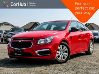 Used 2016 Chevrolet Cruze Limited LS|Bluetooth!Pwr Locks|Sat Radio|Pwr Windows|Keyless Entry for sale in Bolton, ON