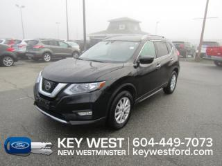 Used 2017 Nissan Rogue SV AWD Bluetooth Cam Sunroof Heated Seats for sale in New Westminster, BC