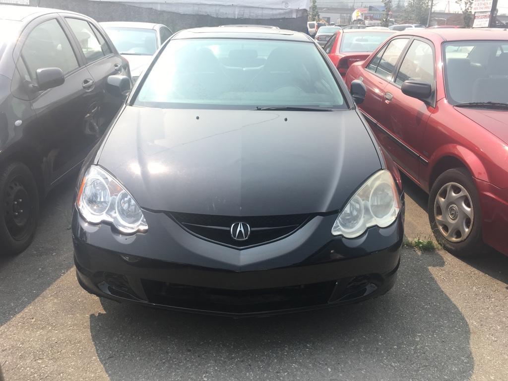 Used Acura RSX Dr Sport Cpe Auto For Sale In Surrey British - Acura rsx used