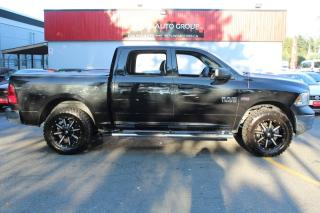 Used 2017 RAM 1500 Express 4x4 Crew Cab 57  Box for sale in Surrey, BC