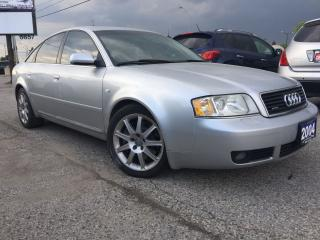 Used 2004 Audi A6 2.7T for sale in Woodbridge, ON