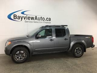 Used 2018 Nissan Frontier PRO-4X - SUNROOF! HTD SEATS! NAV! ROCKFORD FOSGATE! REVERSE CAM! for sale in Belleville, ON