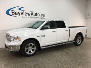 Used 2016 RAM 1500 Laramie - CHROMES! ECODIESEL! HTD/AC LTHR! NAV! ALPINE! PWR PEDALS! for sale in Belleville, ON